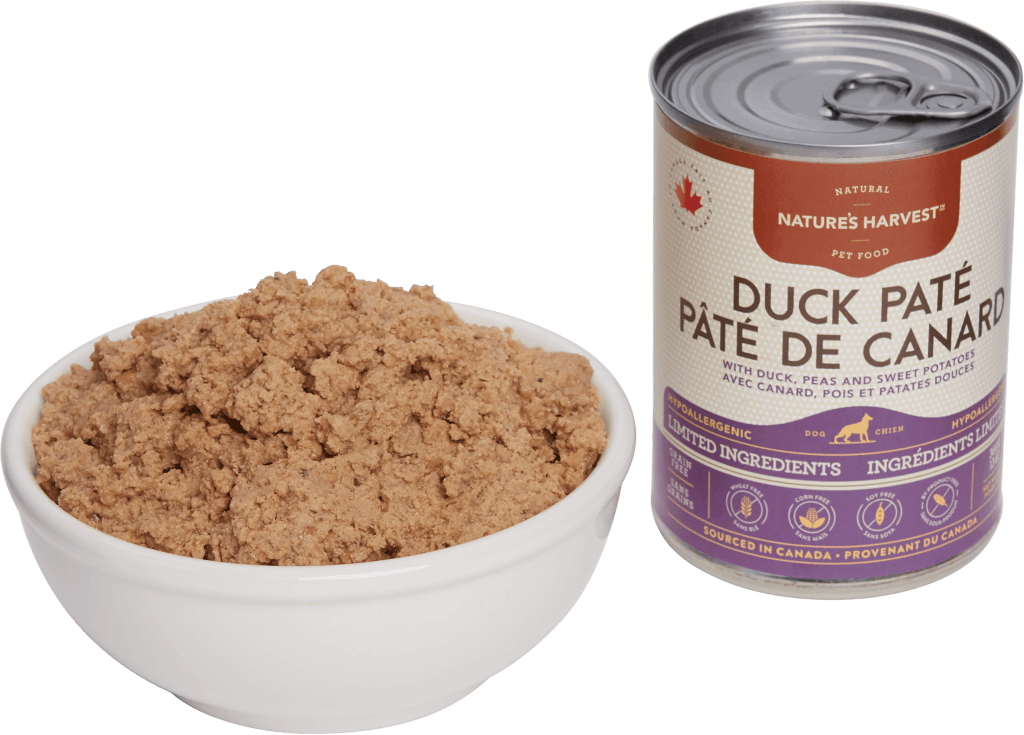 canine can Duck Pate LID 13oz Food