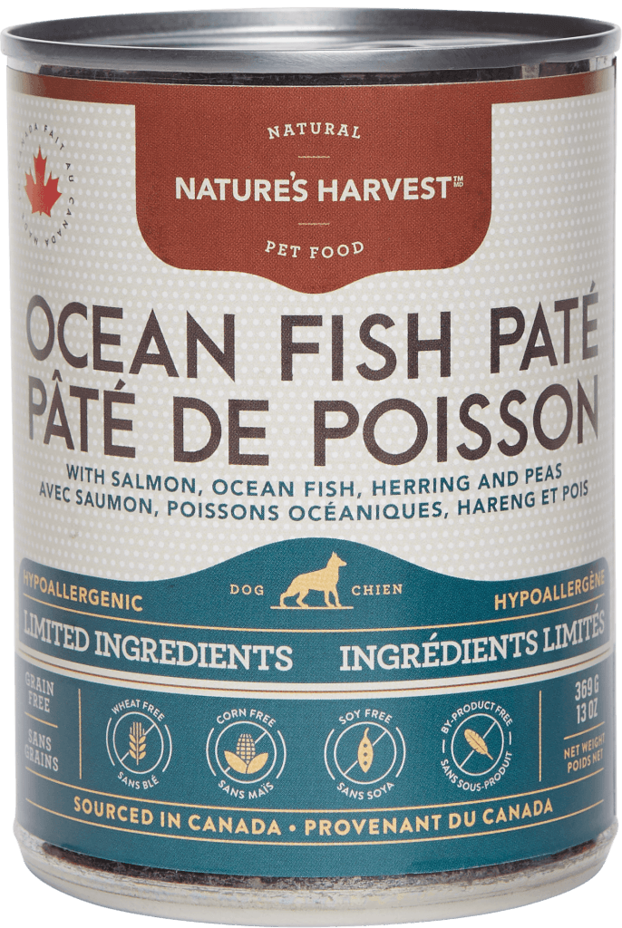 canine can Ocean Fish Pate LID 13oz