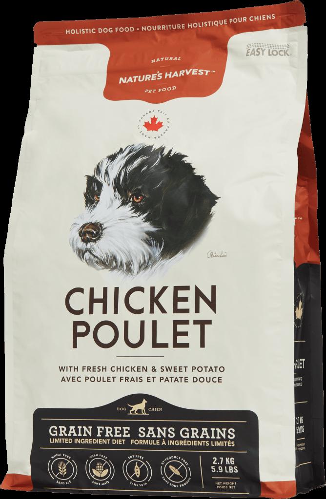 canine dry grain free Chicken 2.7kg