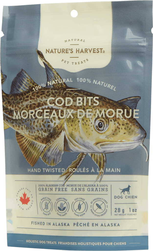 canine treat Cod Bits