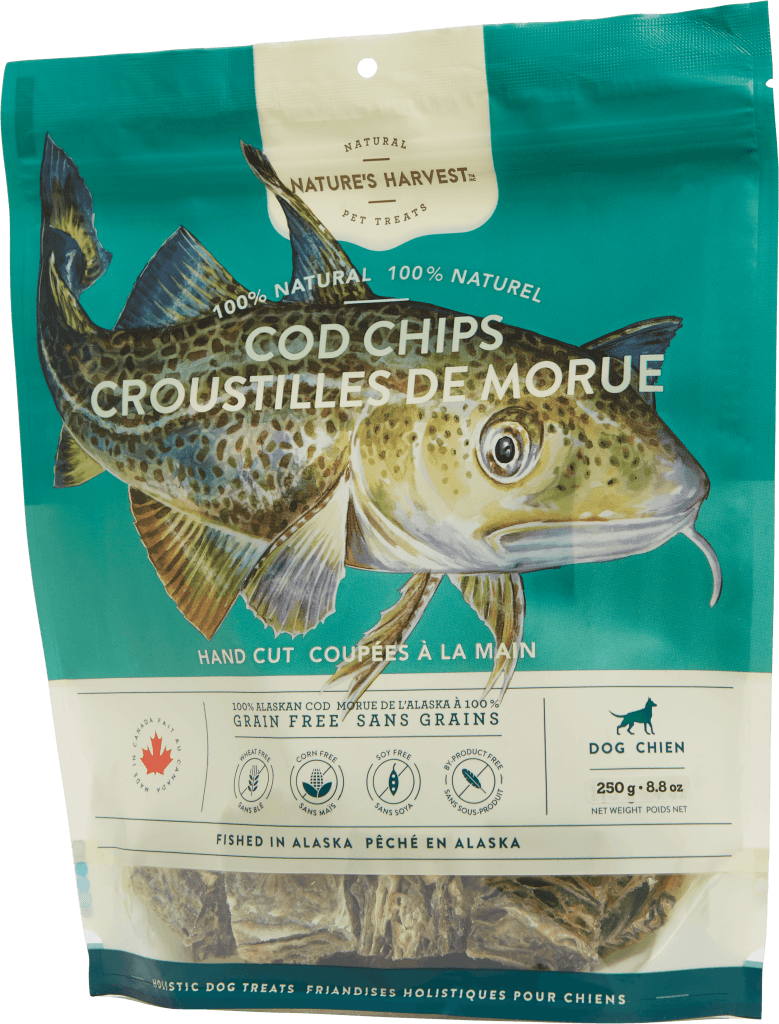 canine treat Cod Chips 250g