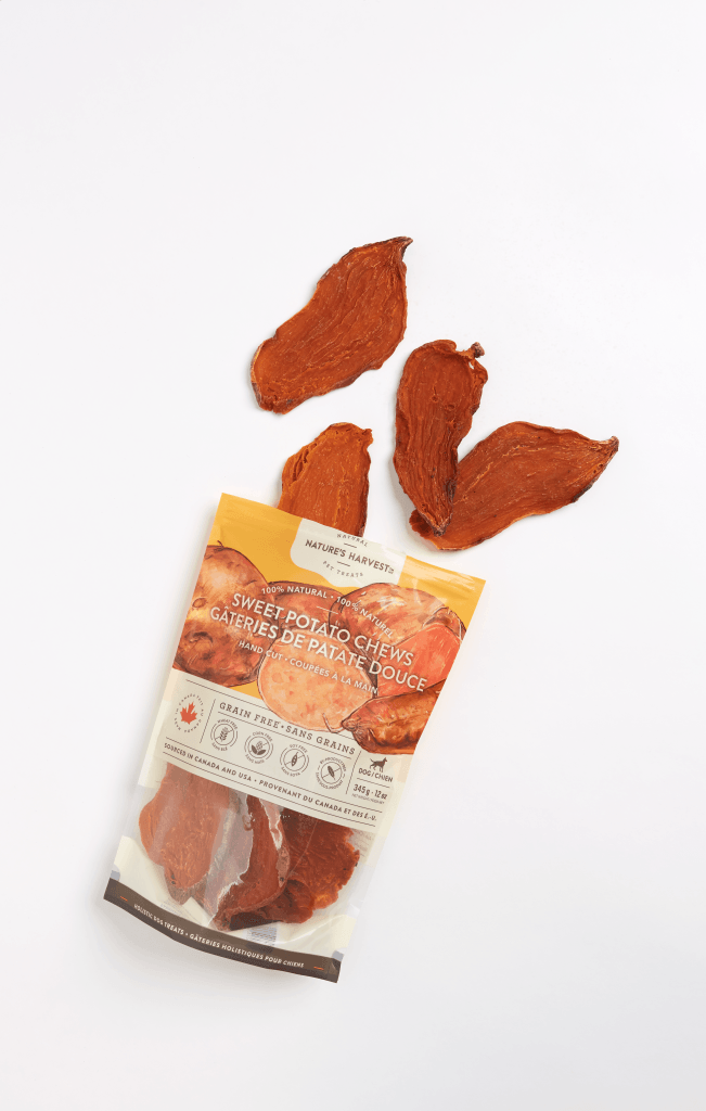 canine treat Sweet Potato Chews 354g top