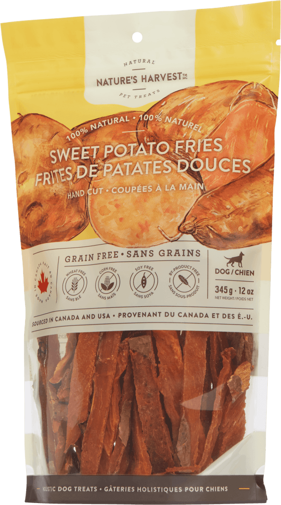 canine treat Sweet Potato Fries 354g
